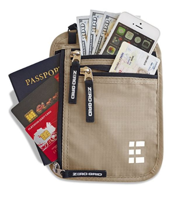 Travel Wallets protect your valuables while away from home