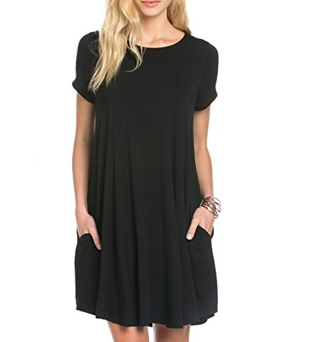 bamboo t shirt dress