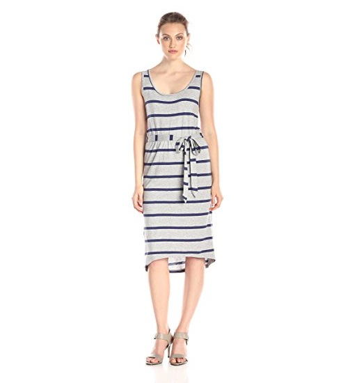 broome style striped dress