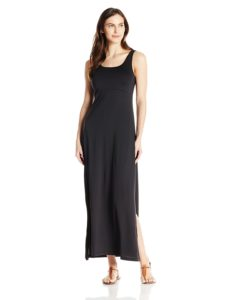 black columbia brand travel maxi dress