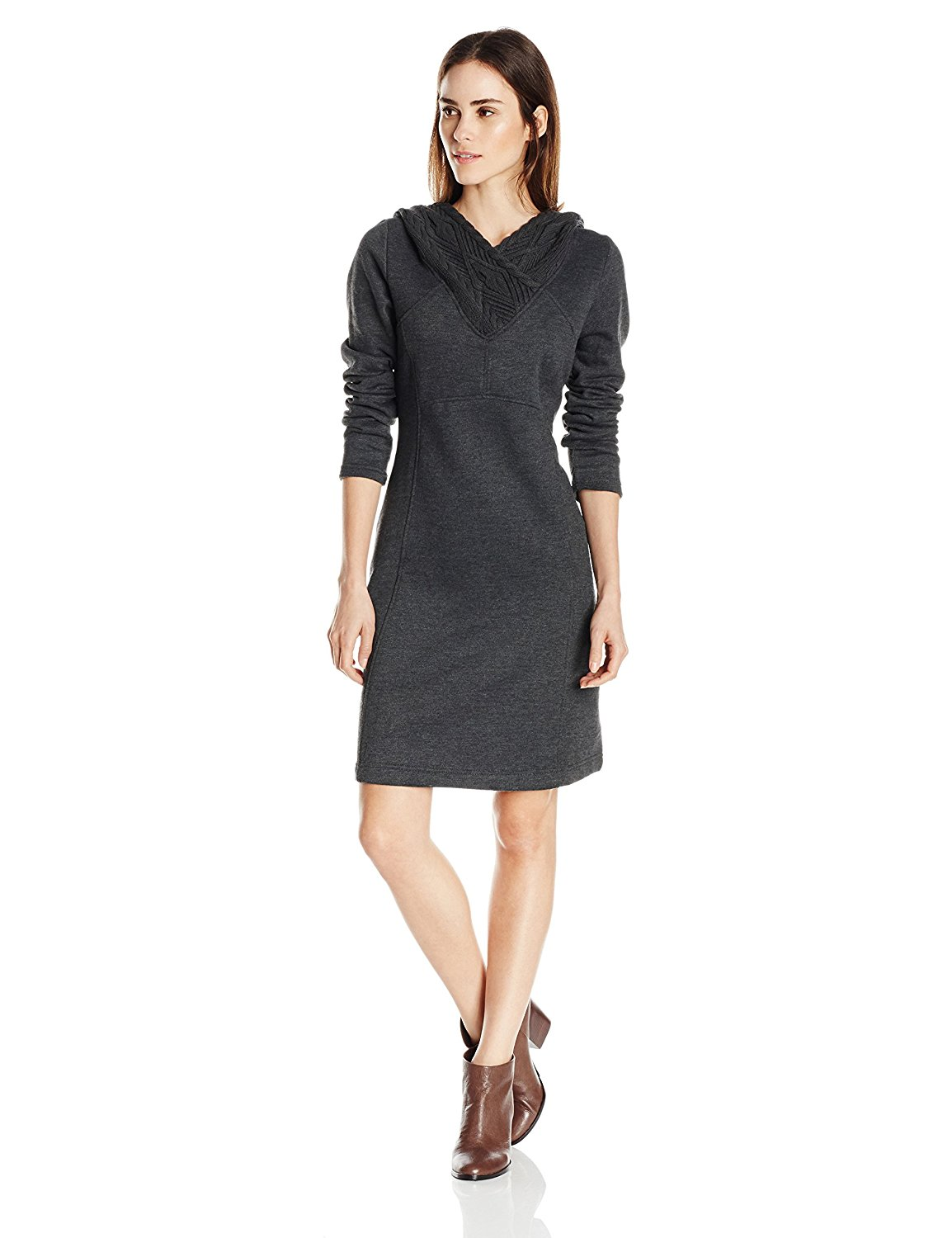 prana hooded travel dress